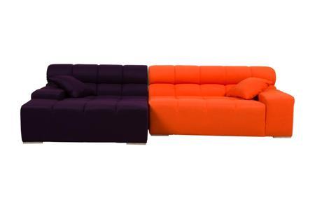 Купить Диван Tufty-Time Sofa Фиолетово-оранжевая Шерсть
