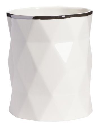 Купить Декоративная ваза Allure Silver High
