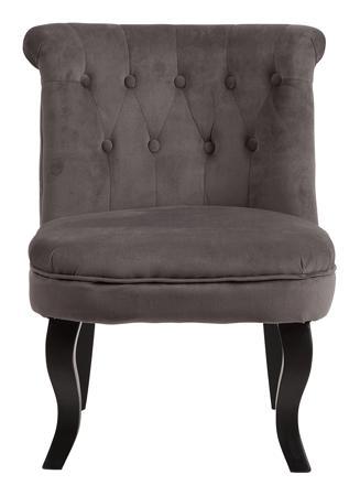 Купить Кресло Dawson Тёмно-серый Велюр