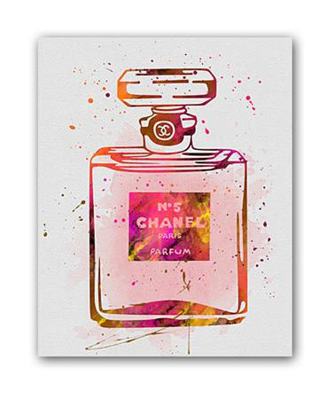 Купить Постер Chanel №5 А4