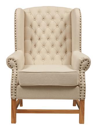Купить Кресло French Provincial Armchair Белый Лен