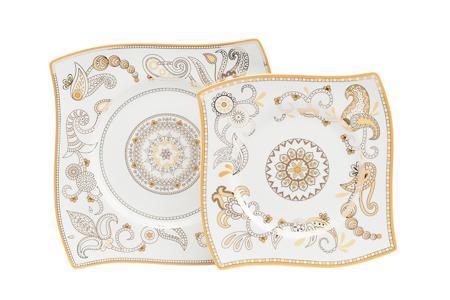 Купить Комплект тарелок Artblanc Gold