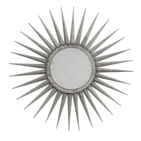 Купить Зеркало-солнце Starburst Маленькое Серебро