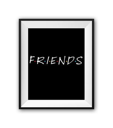 Купить Постер Friends А4