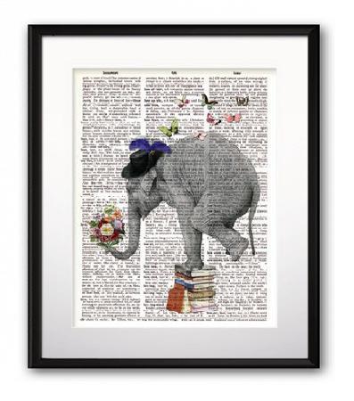 Купить Постер Mr. Elephant А4