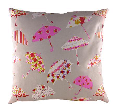 Купить Подушка с принтом Brollies Pink