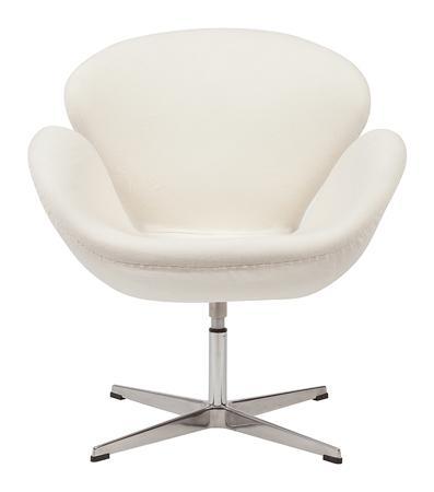 Купить Кресло Swan Chair Кремовая Шерсть