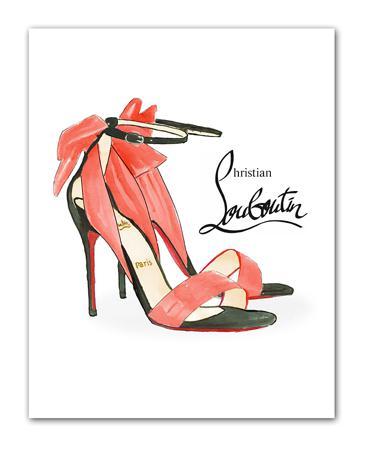 Купить Постер Louboutin А3