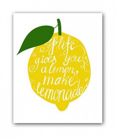 Купить Постер Лимон А4