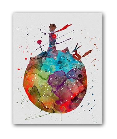 Купить Постер Маленький принц А4