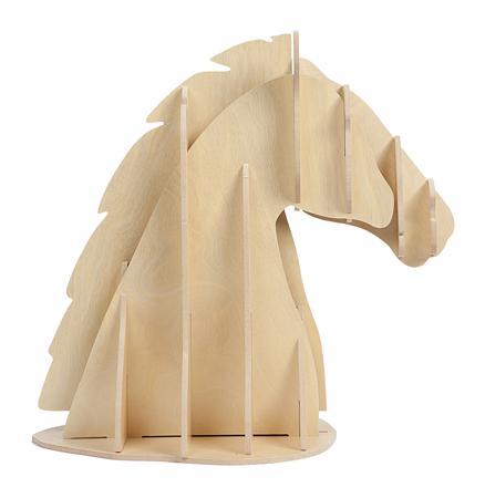 Купить Декоративный бюст лошади Vixen Light Brown
