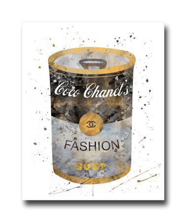 Купить Постер Баночка Coco Chanel's A4