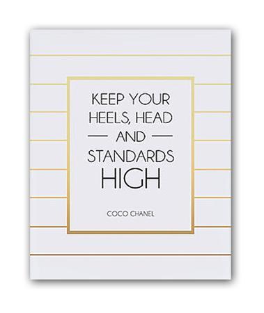 Купить Постер Keep your heels А4