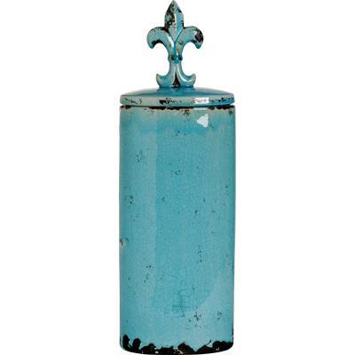 Купить Емкость для хранения с крышкой Cannister Blue