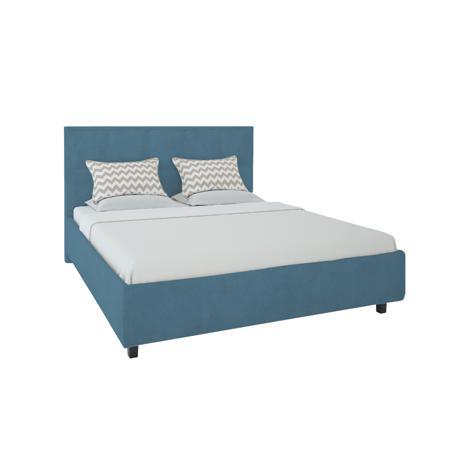 Купить Кровать Royal Black 140х200 Велюр Морская волна