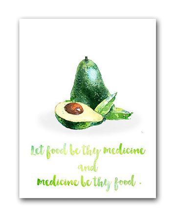 Купить Постер Авокадо А3
