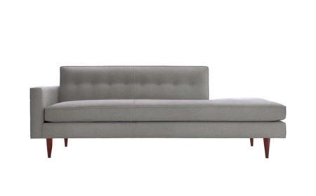 Купить Диван Bantam Studio Sofa Светло-серая Шерсть