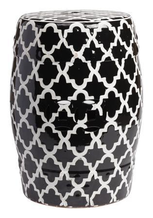 Купить Керамический столик-табурет Istanbul Stool Black