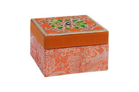 Купить Декоративная шкатулка Blossom Orange