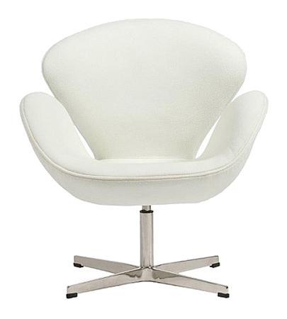 Купить Кресло Swan Chair Белый Кашемир