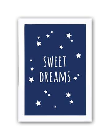Купить Постер Sweet dreams boys А3