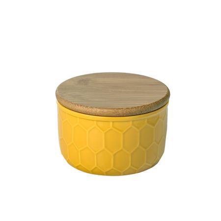 Купить Ёмкость для хранения Honeycomb Жёлтая Маленькая