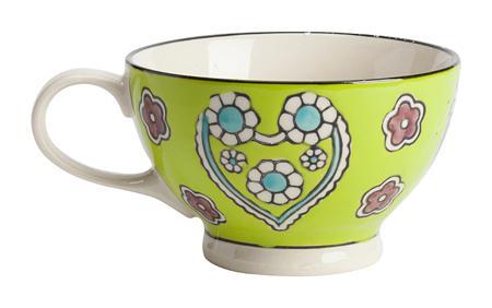 Купить Чашка, раскрашенная вручную Kamille