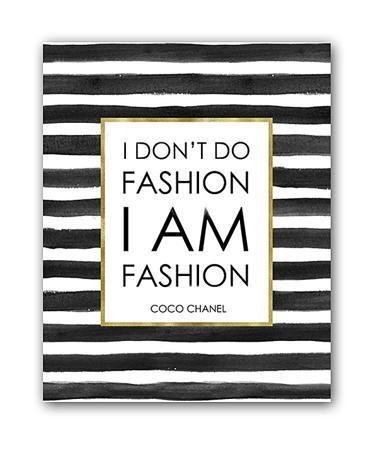 Купить Постер I am fashion А4