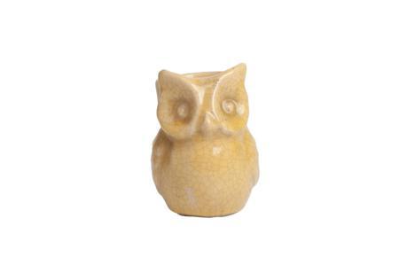 Купить Предмет декора статуэтка сова Vincenzo Yellow