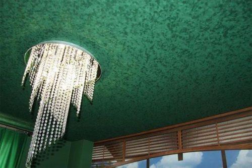 Натяжные потолки: какой материал выбрать