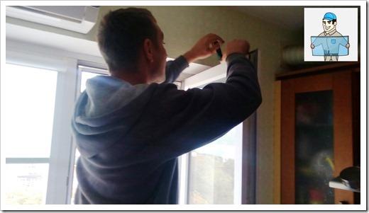 Быстрая замена фурнитуры в пластиковом окне