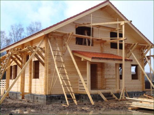 Этапы постройки деревянного дома