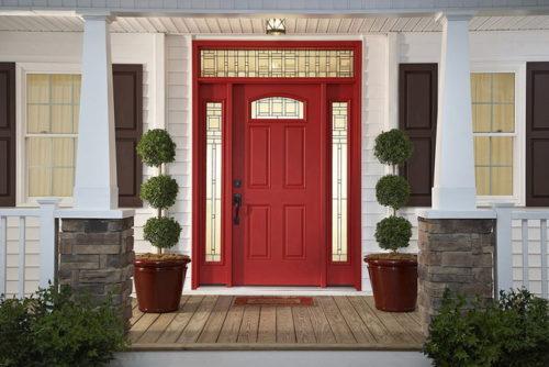 Как поменять входную дверь в коттедже