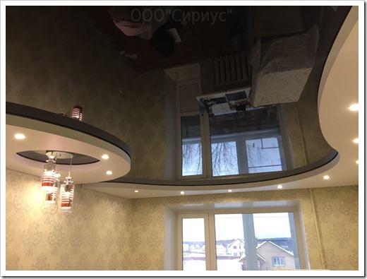 Самый сложный этап в создании многоуровневой конструкции на потолке