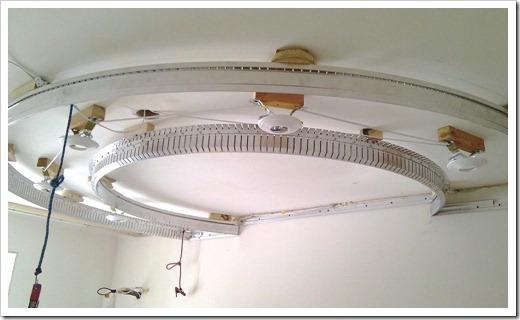 Установка осветительного оборудования в потолок
