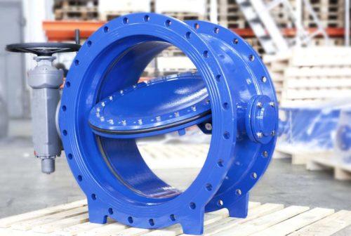 Затвор поворотный дисковый межфланцевый: технические характеристики