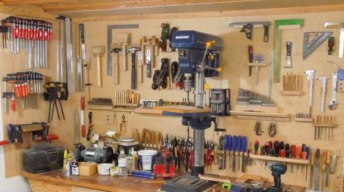 Какие инструменты нужны для столярной мастерской