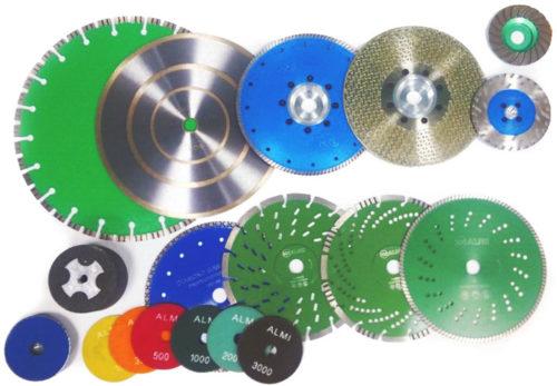 Виды алмазных дисков