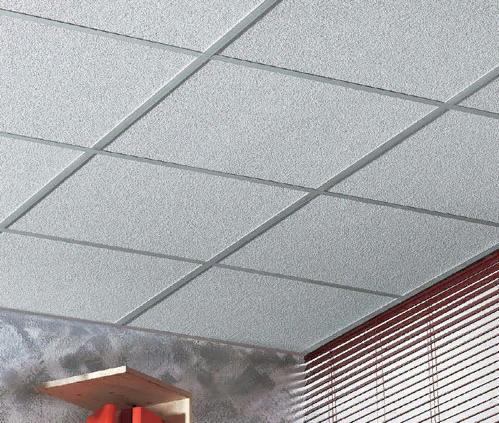 Потолок из минеральных потолочных плит AMF