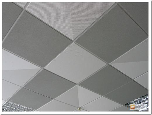 Эстетика подвесных потолков