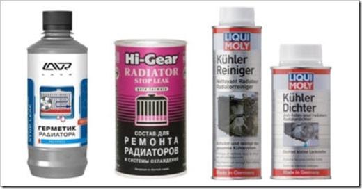 герметики для радиатора