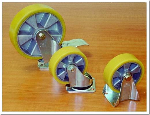 Общая классификация колёс для тележек