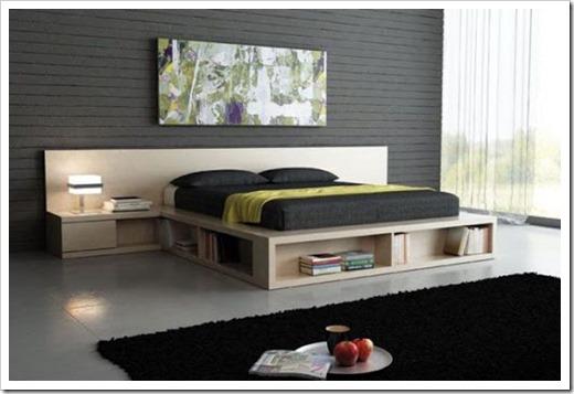 двуспальная кровать-подиум